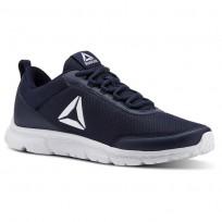 Reebok Speedlux 3.0 Running Shoes Mens Collegiate Navy/White (955HRAYE)