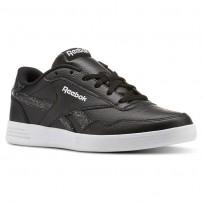 Reebok Royal Techque Shoes Womens Black/White/Sleet (959GIPVN)