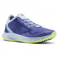 Reebok All Terrain Running Shoes Womens Lilac Shadow/Frsh Blue/Electric Flash (962DCBGI)
