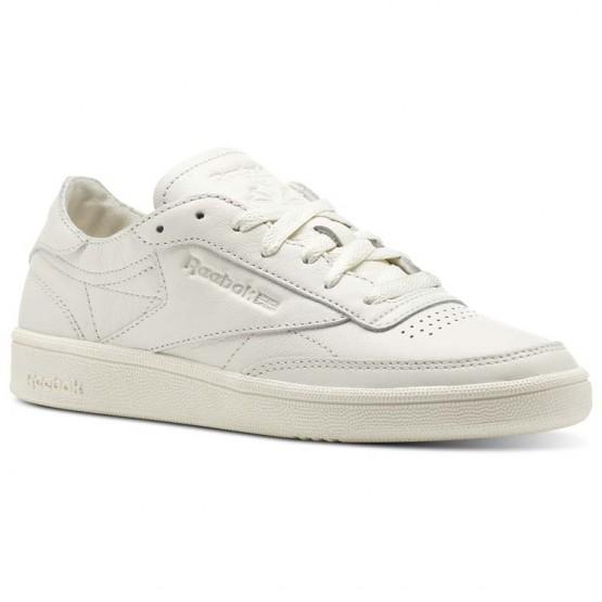Reebok Club C 85 Shoes Womens Chalk (970JPVKI)