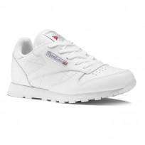 Chaussure Reebok Classic Leather Enfant Blanche (971BWRAP)