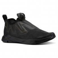 Chaussure Casual Reebok Pump Supreme Homme Noir/Grise (972VGJQE)
