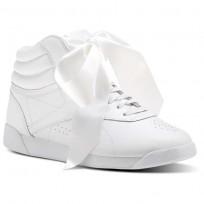 reebok freestyle hi παπουτσια γυναικεια ασπρα/γκρι (977iyfto)