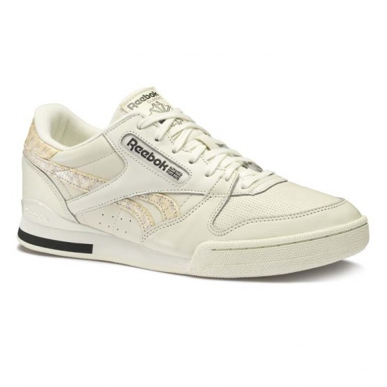 Reebok Phase 1 Pro Shoes Mens Aff-Chalk/Coal/Bare Beige (989FYBNQ)